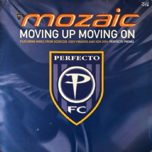 "Mozaic ‎- Moving Up Moving On (12"") (Promo) (VG-/G)"